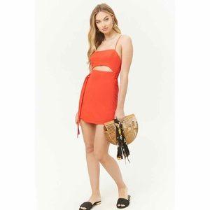 Dresses & Skirts - Wrap Cutout Mini Dress